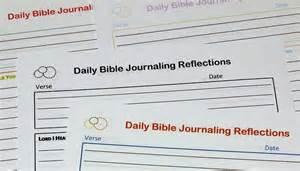 Free Printable Bible Journaling Pages