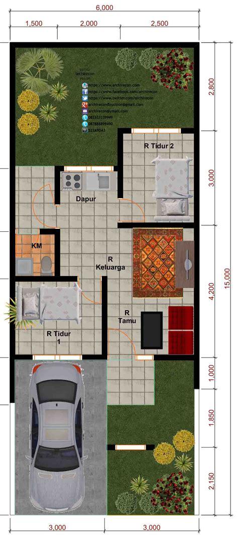 inspirasi desain interior rumah minimalis type
