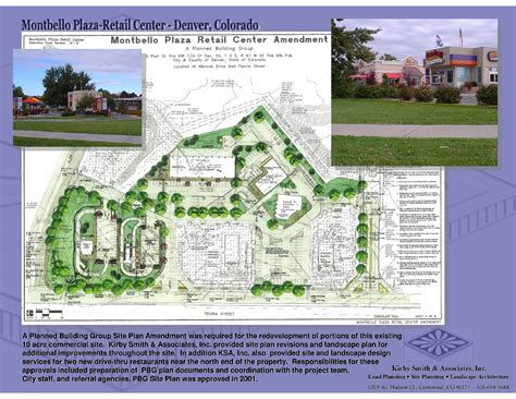 Building Site Plan Template by Commercial Mixed Use Site Planning Kirby Smith