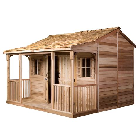 does lowes install sheds cedarshed common 12 ft x 12 ft interior dimensions 11