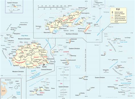 map  fiji islands compressportnederland