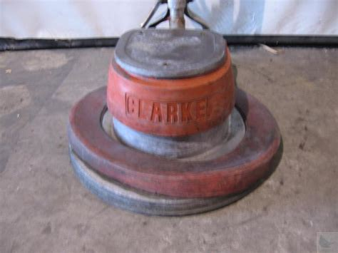 clarke model 2000 floor maintainer buffer polisher ebay