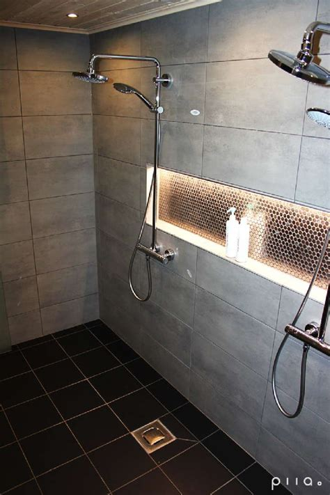 Dusche Mit Licht by I Like The Light Idea Above The Recessed Area Could Put