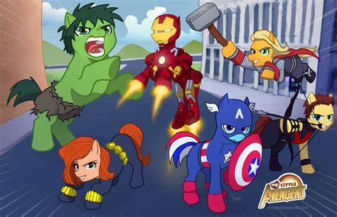 My Little Avengers By Adyon On Deviantart