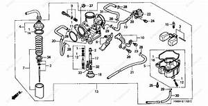 Honda Atv 2000 Oem Parts Diagram For Carburetor