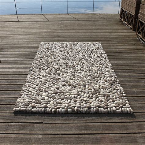 tapis en gris fait stones carving 140x200