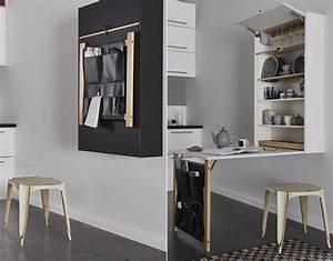 Wohnideen Für Kleine Räume : enge und kleine r ume einrichten mit modernem klapptisch freshouse ~ Orissabook.com Haus und Dekorationen