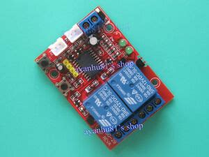 dc 12v 2 way self locking latching relay touch bistable switch module 2ch ebay