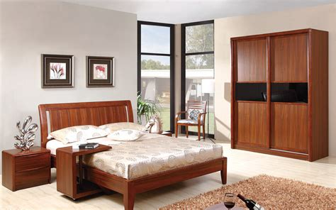 Bedroom Solid Wood Furniture Set #4795  Latest Decoration