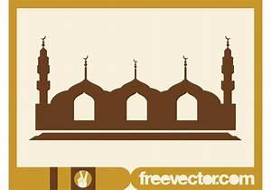 Mosque Vector Graphics
