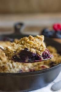 Triple Berry Skillet Crisp - Lovely Little Kitchen