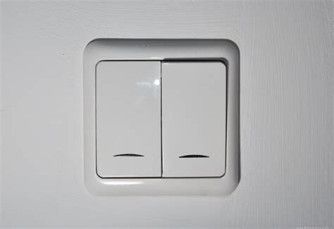 white light switch in wall free image on 4 free photos