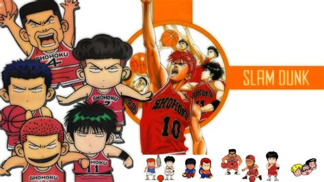 Slam Dunk Anime Wallpaper - slam dunk hd wallpapers wallpaper cave