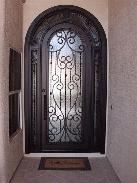 iron entry doors in landmark iron design