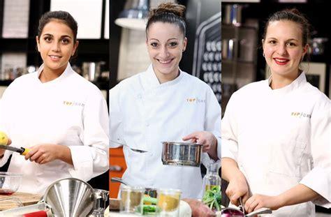 cuisine m6 top chef qui sont les 3 femmes qui concourent pour le titre de top