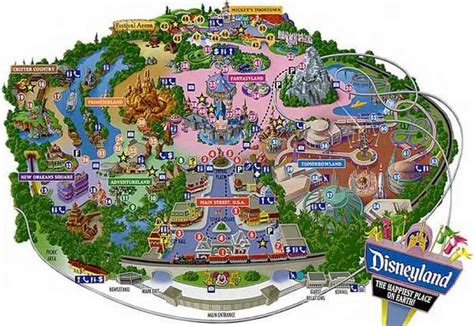 map  disneyland holidaymapqcom