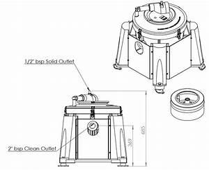 Semi Auto Clean Ic45-a Centrifuge
