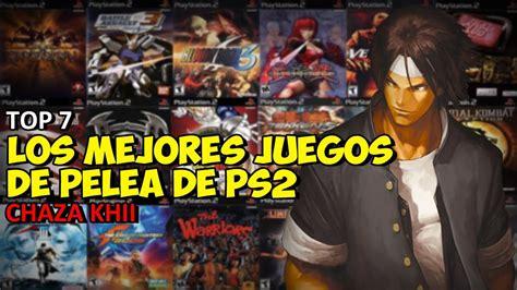 Hemos recopilado lo mejor de los juegos de 2 jugadores para ti. TOP: Los mejores juegos de pelea de la Playstation 2 - YouTube