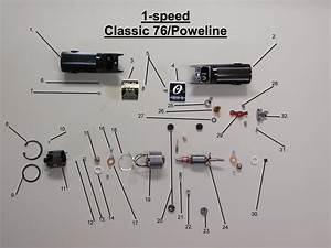 Oster Classic 76    Powerline Clipper Parts