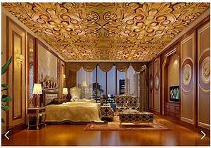 3D wallpaper custom 3d ceiling wallpaper murals European ...