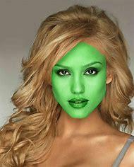 Jessica Alba Mask