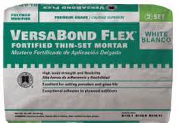 versabond flex 174 thin set mortar custom building products