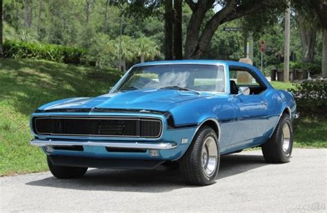 1968 Used Automatic Rwd Chevrolet Chevy 68 Camaro Big