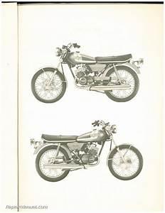 1975 Yamaha Rd125b Two Stroke Motorcycle Parts Manual
