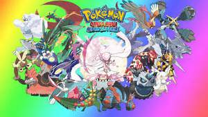pokemon mega evolution wallpaper