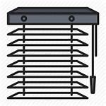 Icon Blinds Window Jalousie Tool Icons Editor