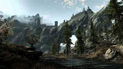 Skyrim 1080p Solitude Wallpapers Elder Scrolls Dreamscene