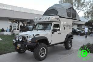 Jeep Wrangler Camper Top Tent