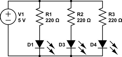 When Will Parallel Led Voltage Drops Become Issue