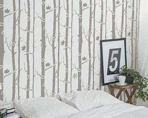 17 meilleures idees a propos de pochoirs de mur d39arbre With maison en tronc d arbre 8 arbres fruitiers decoratifs pratique fr