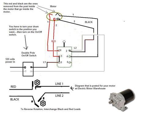 reversible motor wiring diagram reversible ac motor