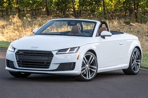 Used 2017 Audi Tt Convertible Pricing  For Sale Edmunds