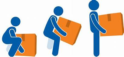 Lifting Lift Technique Clipart Safety Heavy Workplace