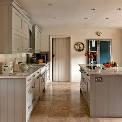 grey country kitchen grey shaker kitchen ideal home 1487