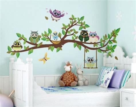 Kinderzimmer Deko Vögel by Kinderzimmer Deko Wand