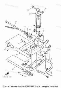 Yamaha Atv 2001 Oem Parts Diagram For Rear Arm Suspension