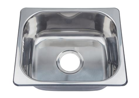 Small Bowl Stainless Steel Sinks by Small Top Mount Inset Stainless Steel Kitchen Sinks With