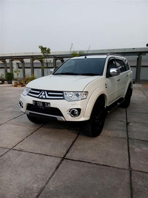 mba ratna mitsubishi pajero sport dakar 2 5 diesel at 2014 putih