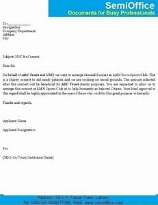Letter for NOC Request (No Objection Certificate)