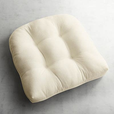 calliope standard chair cushion ivory pier 1 imports