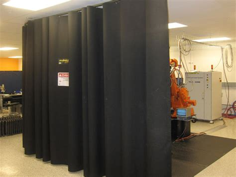 laser safety curtains large area laser protection