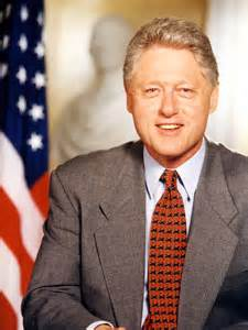 bill clinton education background
