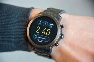 Montre Fossil Connectee : test fossil q explorist une montre connect e qui a du ~ Melissatoandfro.com Idées de Décoration