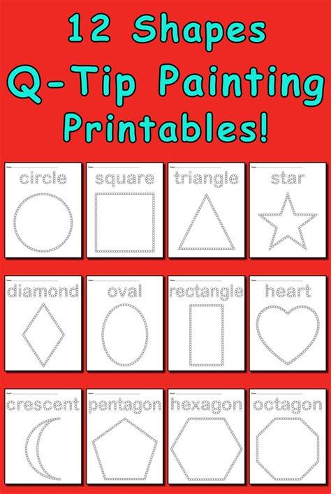 learning shapes bundle  printable shapes worksheets supplyme