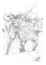 Deviantart Executioner Mikebowden Hela Thor Ragnarok Comic Marvel Comics sketch template