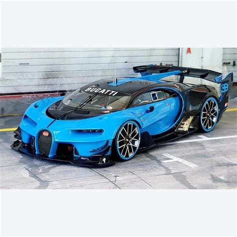2016 bugatti vision gran turismo is the first race car bugatti has intended since the eb110, however, it's just a concept that might hit a real race track. Bugatti Vision Gran Turismo kit 1/24 Alpha Model